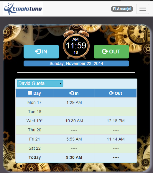The best time and attendance web application for small business